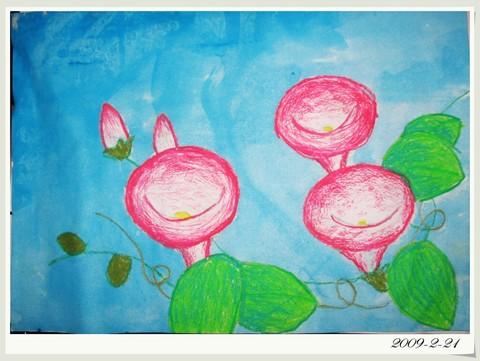 丹青Ⅱ 蜡笔水粉画
