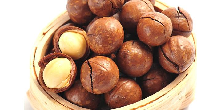 孕妇不能吃哪些食物之夏威夷果,澳洲坚果,火山果,昆士兰果,澳洲胡桃