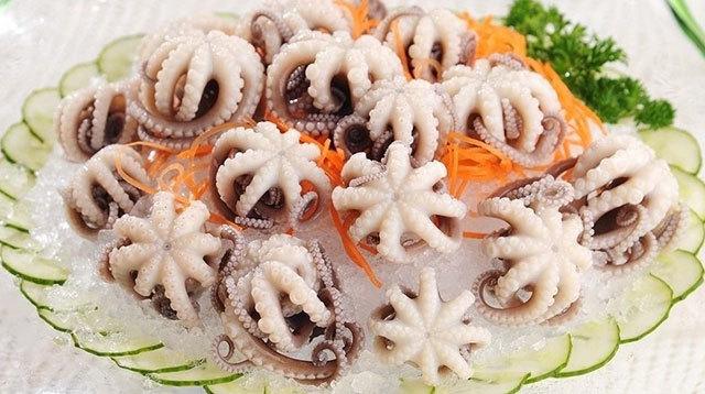 孕妇怀孕期间能吃章鱼,石居,八爪鱼,坐蛸,石吸,望潮,死牛吗