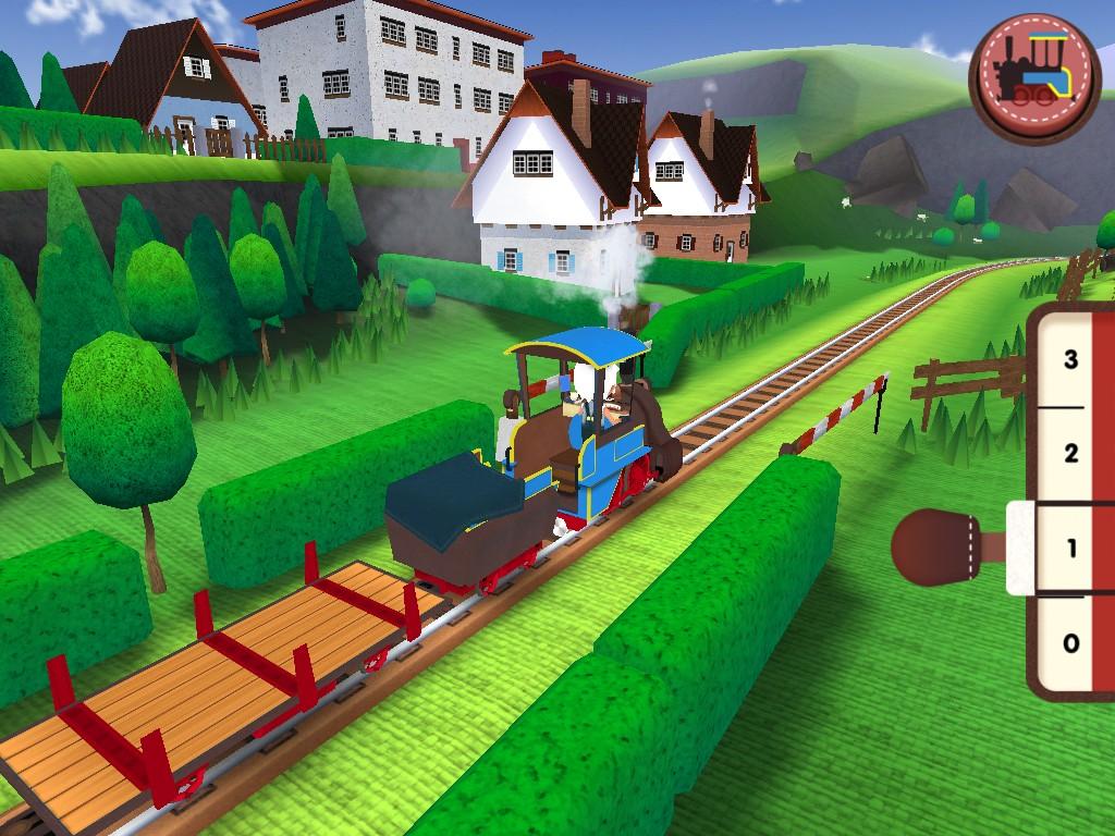 《Toca Train》:青葱绿野之上的火车旅行