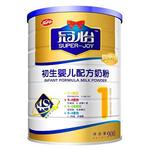 龙丹冠怡系列初生婴儿配方奶粉1段900g