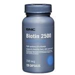 GNC健安喜生物素维生素H(2500毫微克)120粒