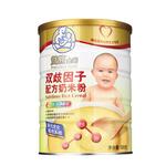 双熊双歧因子配方奶米粉528g/罐