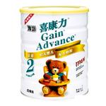 雅培喜康力金装较大婴儿配方奶粉2段900g(老包装)