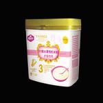 雅因乐3段护肠什锦水果有机米粉500g