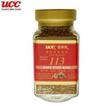 UCC柔和型113精选速溶咖啡100g
