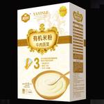 雅因乐3段牛肉蔬菜有机米粉250g