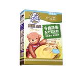 双熊金典多维蔬果配方奶米粉225克/盒