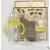 史代尔翻不漏防胀气宽口奶瓶套装(300ML+125ML)
