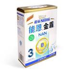 雀巢能恩金盾幼儿配方奶粉3段400g(老包装)