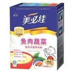 美必佳3段鱼肉蔬菜营养米粉