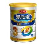 三元金装爱欣宝幼儿配方奶粉3段900g