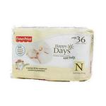 费雪欢乐之日新生儿婴儿日用纸尿裤36片装