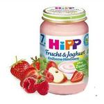 喜宝hipp有机草莓树莓果泥