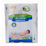 贝舒乐熟睡宝宝专用纸尿裤XL号12片