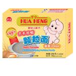 华亨婴幼儿蛋黄+DHA咀嚼颗粒面200g(5个月以上)