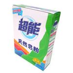 超能天然皂粉盒装1000g