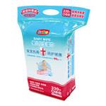 bobo婴儿卫生柔湿巾(4连包320片)