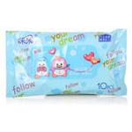 禾采QQ湿巾(10P装)(5包起订)