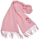 恒源羊绒羊毛加厚保暖男士长围巾礼盒装SFBX180-80单色粉色
