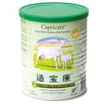适宝康山羊奶较大婴儿和幼儿配方奶粉2段400克