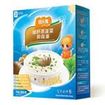 百乐麦猪肝蒸菠菜阶段面2段