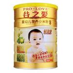 谷之爱婴幼儿钙铁锌小米粉800g
