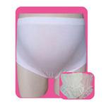 玛·维妮竹纤维无缝抗菌立体托腹孕妇内裤 粉