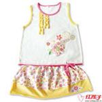 可爱洛彼背心短裙套装B8224-L1-2岁