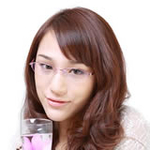 爱家合金防辐射眼镜AJHJ-09粉色