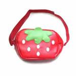 lindalinda单肩包红草莓