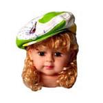 宝贝不哭时尚蓓蕾帽L码