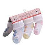 花儿开婴儿袜(3双装)0702(0-3个月)