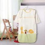 睡王动物王国精梳棉长款长袖婴幼儿宝宝睡袋50*90CM