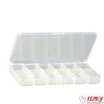 茶花大号计量药盒12格