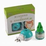 葆芙净婴儿电热驱蚊液(草本型)+电热蚊香液加热器促销装