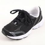 兔仔唛TUZAMA新款男童童鞋透气休闲运动网布鞋黑色30码