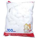 贝亲卫生棉球KA08 100个