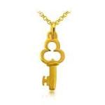 周生生黄金(足金)锁匙吊坠11129p(1.55克)
