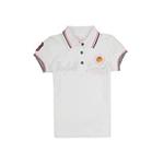 加菲猫女童POLO领短袖T恤GTWD35205漂白色150
