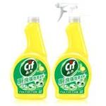 晶杰厨房强效清洁剂(清新柠檬)+补充瓶装(500g+500g)