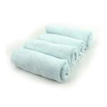 美亲竹纤维小方巾100%竹纤维蓝色