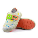 哈利宝贝休闲鞋B236男女童鞋棉布鞋柔软新款潮鞋米色25码/150