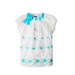 派克兰帝女童短袖T恤LTCD35202白底兰花150