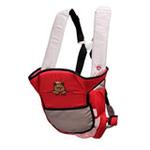 袋鼠仔仔透气型多功能背袋7805红色