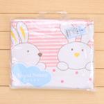 皇家宝贝割绒活性印花毛巾被100*110cmR90200粉色/通码