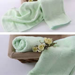 AngelDream安歌吉姆70%竹纤维小毛巾绿色AGZD2A-G