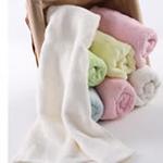 AngelDream安歌吉姆100%竹纤维小毛巾白色AGZP1B-W