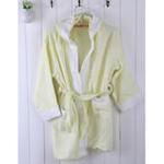 AngelDream安歌吉姆竹纤维儿童浴袍黄色AGZD6A-Y