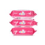 玫瑰缘婴儿湿巾80片*3包
